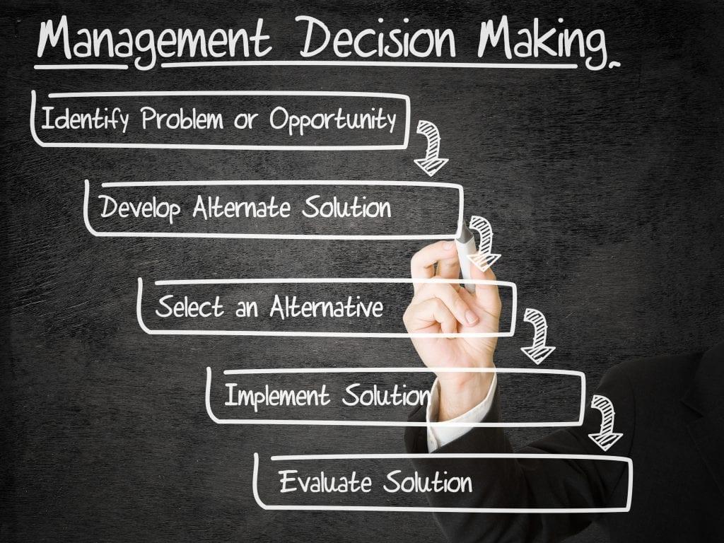 Miksi päätösten tekeminen on vaikeaa